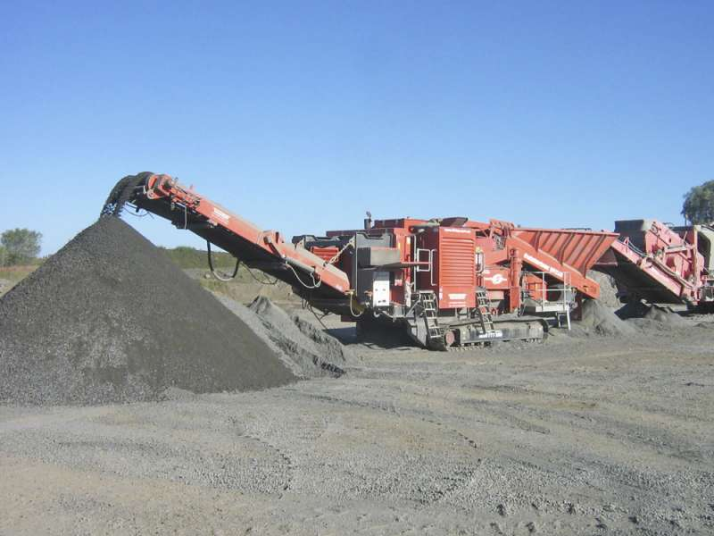 Pilot Crushtec TwisterTrac VS350 VSI crusher