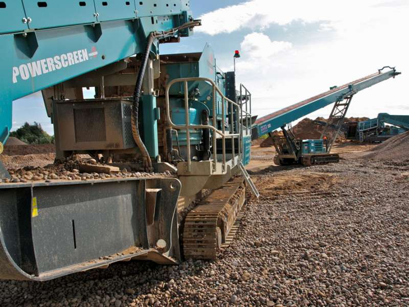 Powerscreen equipment