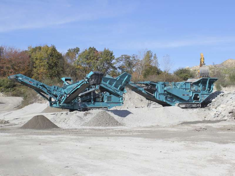 Powerscreen open day