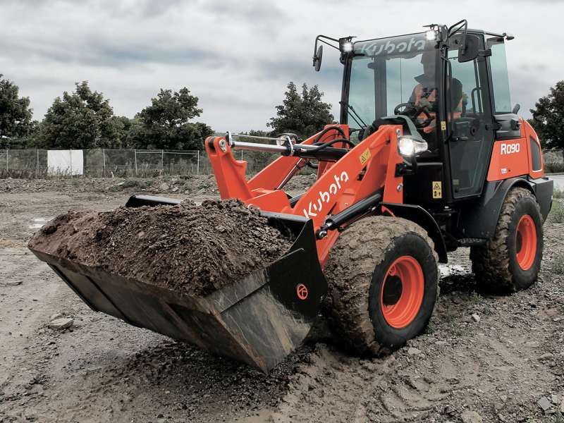 Kubota R090 wheel loader