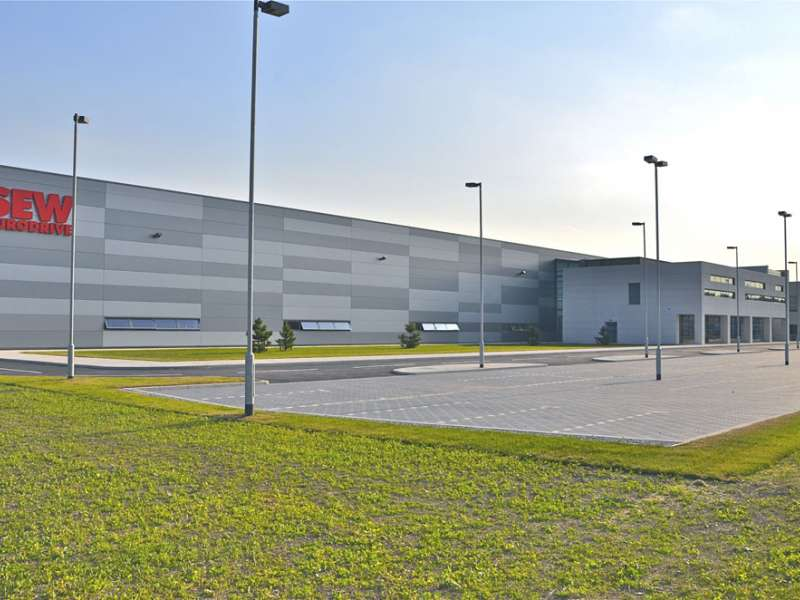 SEW Eurodrive's new purpose-built plant
