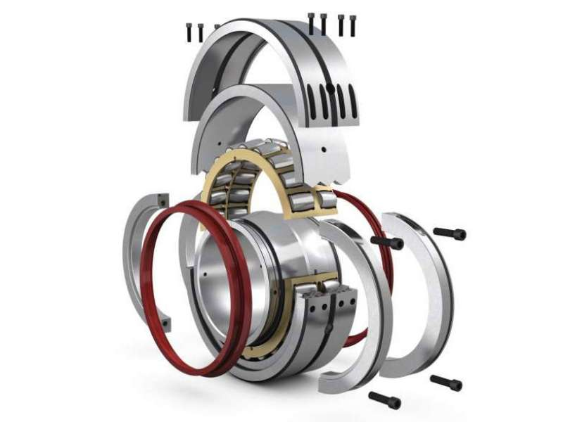 SKF Cooper split spherical roller bearing