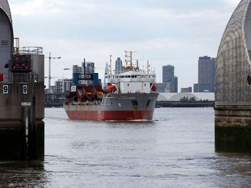 Tarmac's City of Westminster dredger