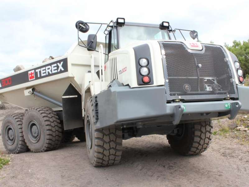 Terex sell truck business to Volvo
