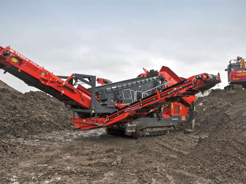 Terex Finlay 883+ Spaleck screener