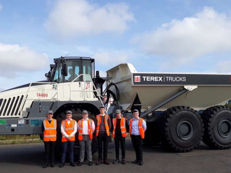 Terex Trucks apprentices