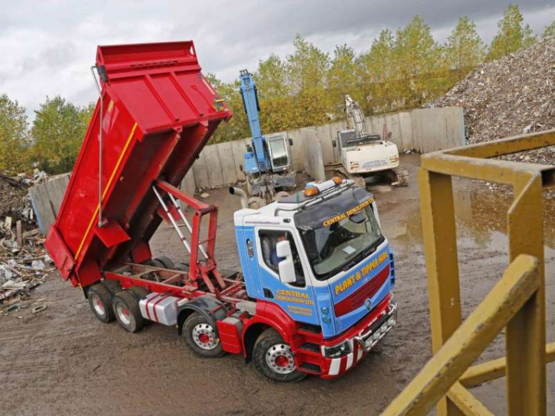Central Demolition's new Loadmaster tipper body