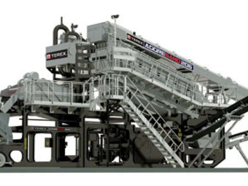 Aggresand 206 wash plant