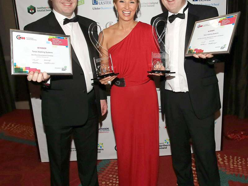 Fergal McPhillips and Garry Stewart at the CIM Awards