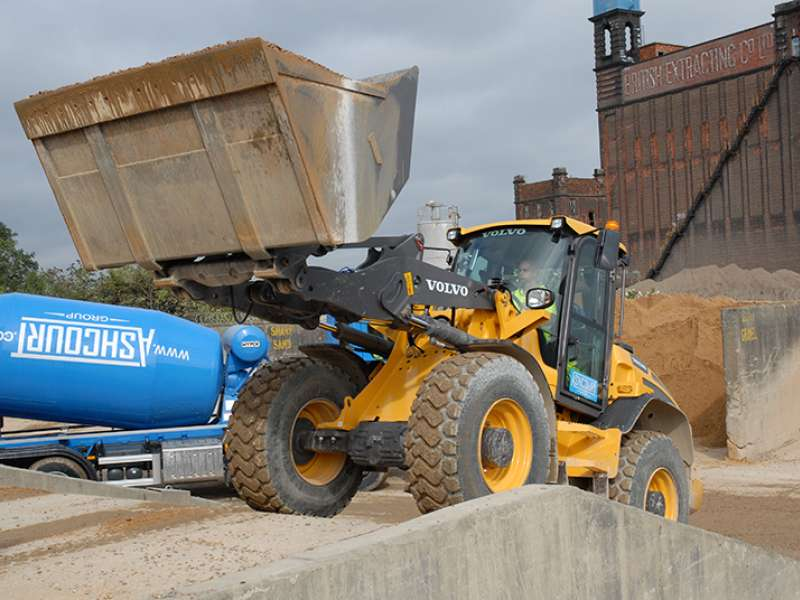 Volvo L50G wheel loader