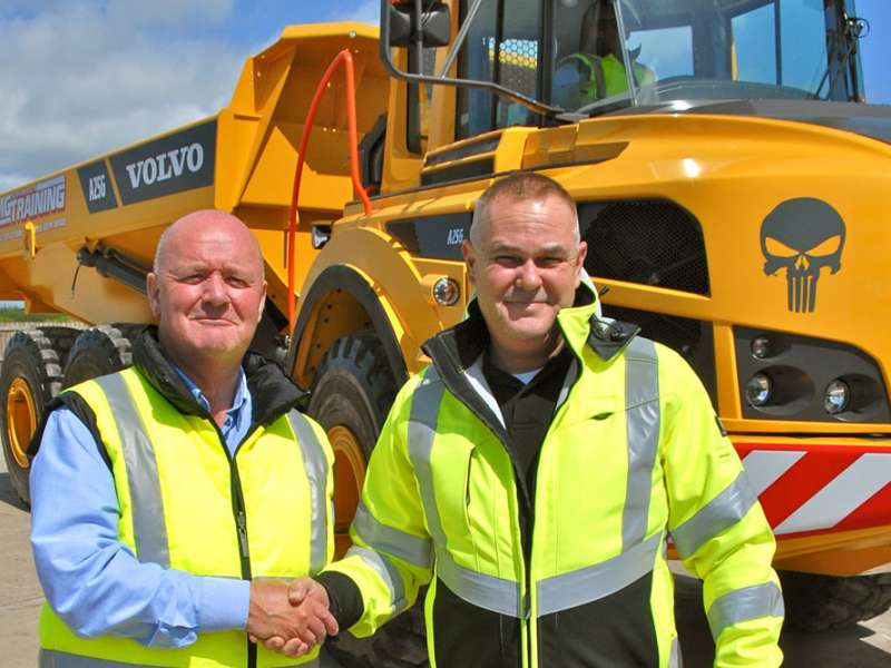MGS Training invest in Volvo machines