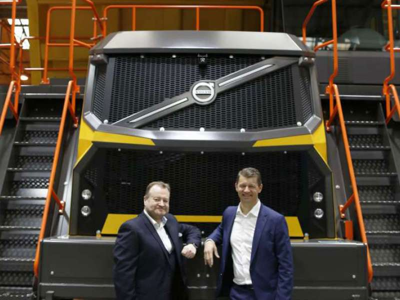Official launch of Volvo rigid haulers