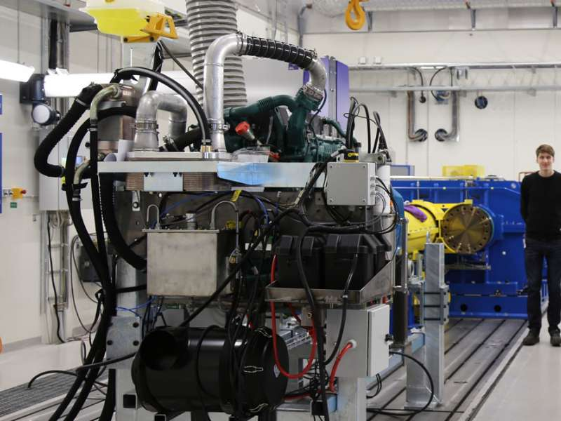Volvo CE's new driveling test facility