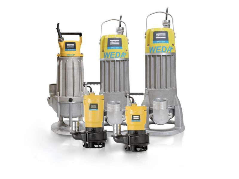 WEDA sludge pumps