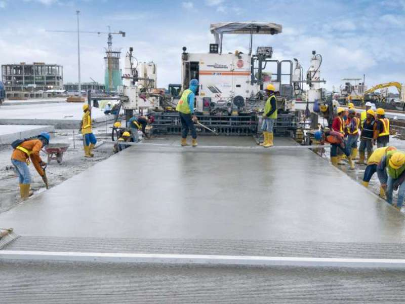 Wirtgen high-performance slipform paver
