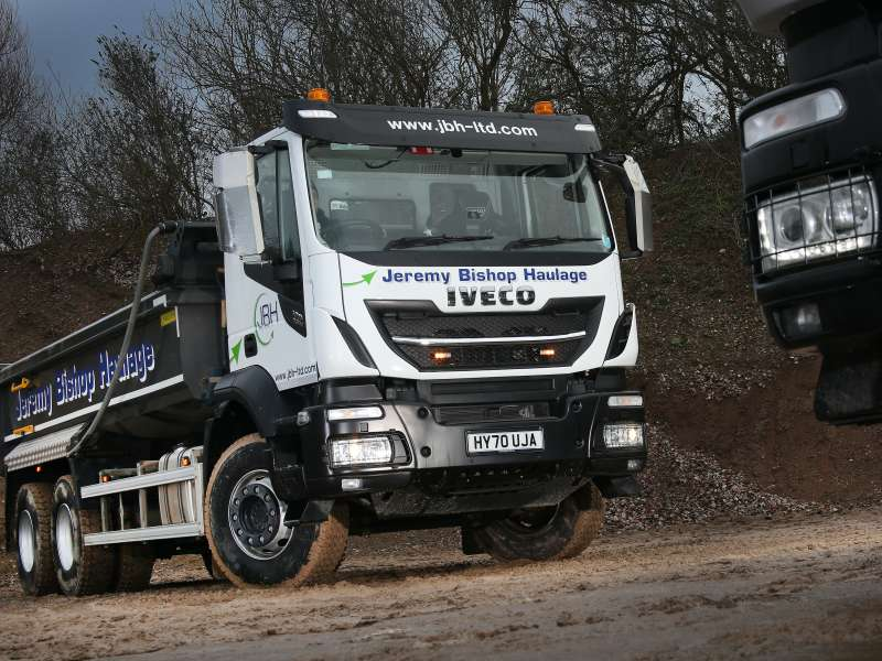 IVECO Stralis X-WAY 6x4 tipper