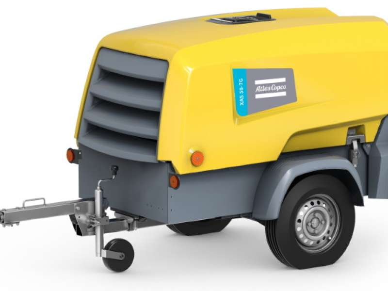 New Atlas Copco two-tool XAS 58 compressor