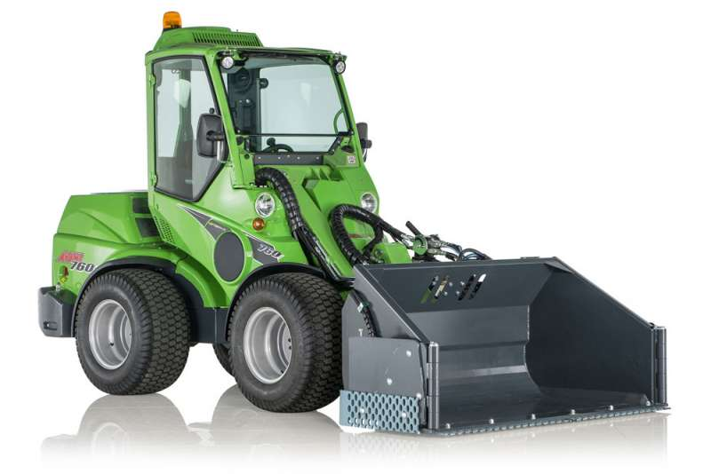 Avant 760 compact loader with Optidrive