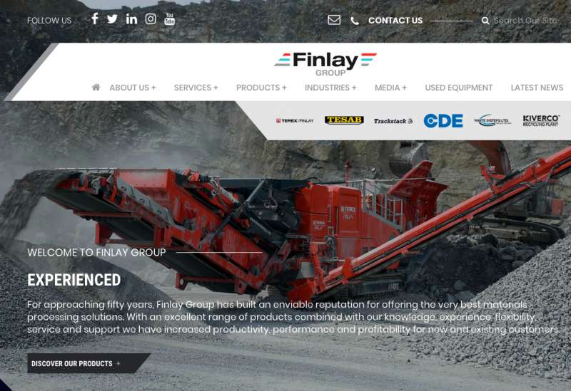Finlay Group website