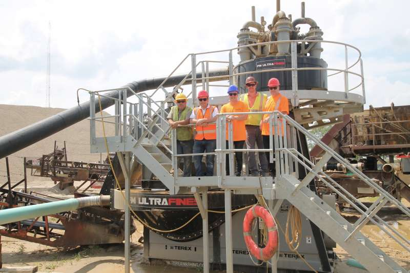Terex Washing Systems' FM UltraFines
