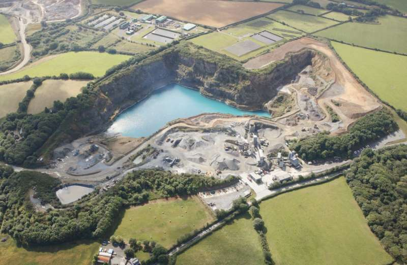 GDH quarrying operation