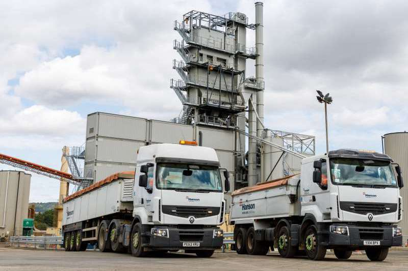 Allington asphalt plant