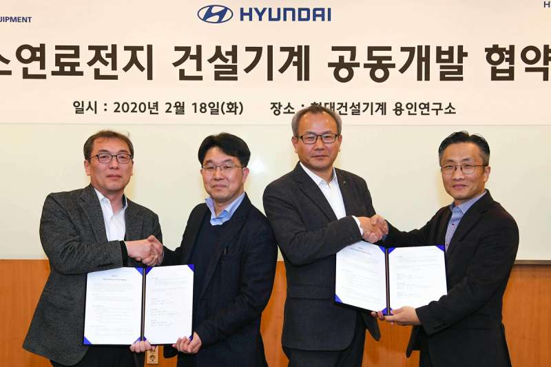 Hyundai agreement signing