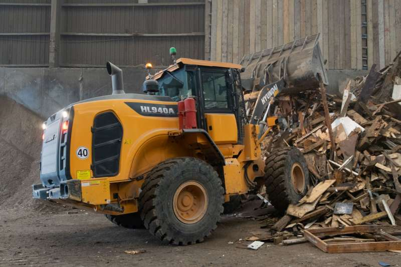 Hyundai HL940A wheel loader