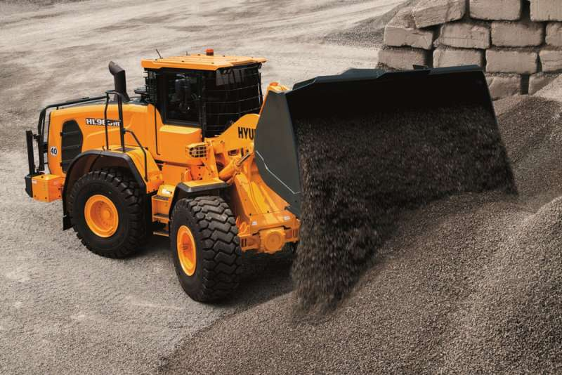 Hyundai HL960 HD wheel loader