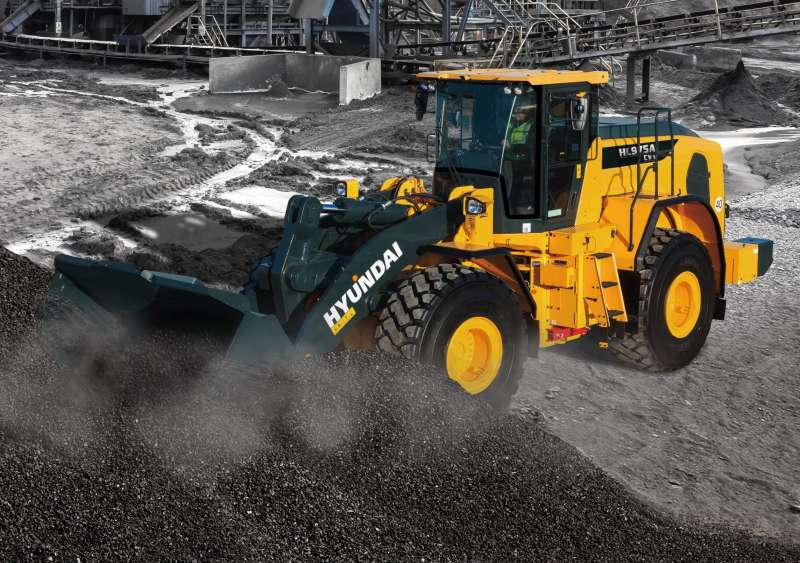 Hyundai HL975A CVT wheel loader