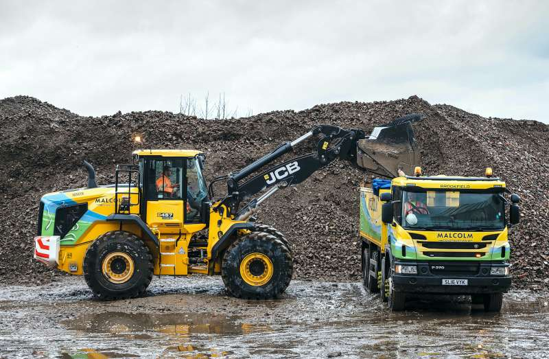 JCB 457 Stage V wheel loader