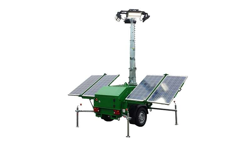 SMC Solar-2 solar lighting tower