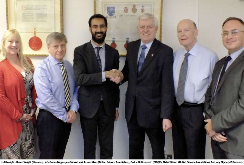 MP-Futures and British Science Association sign partnership