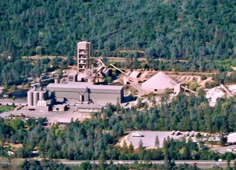 Redding cement plant