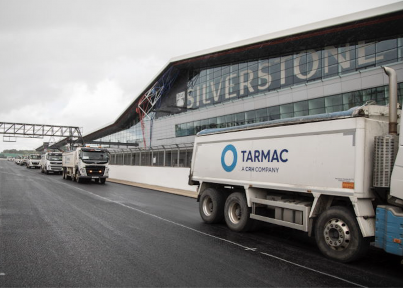 Tarmac at Silverstone