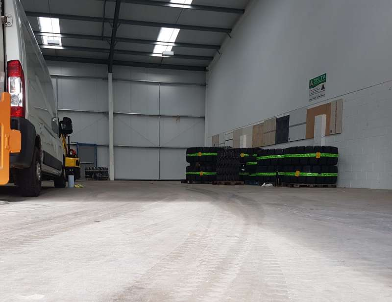 New warehouse for Tyre Boss