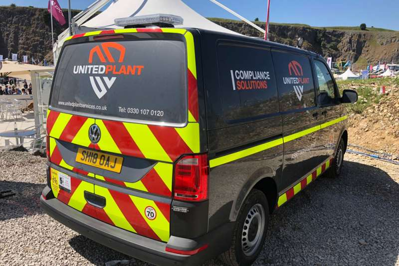 United Plant Services van