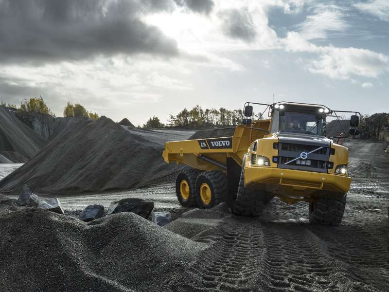 Volvo A25G dumptruck