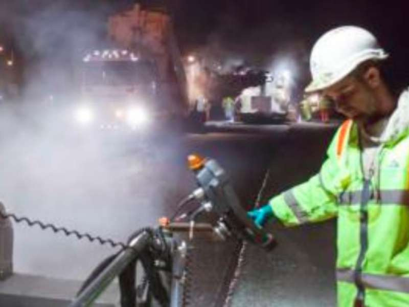 AI Contracting division and Kier win coveted Best Practice award for 'hot-on-hot' paving technique