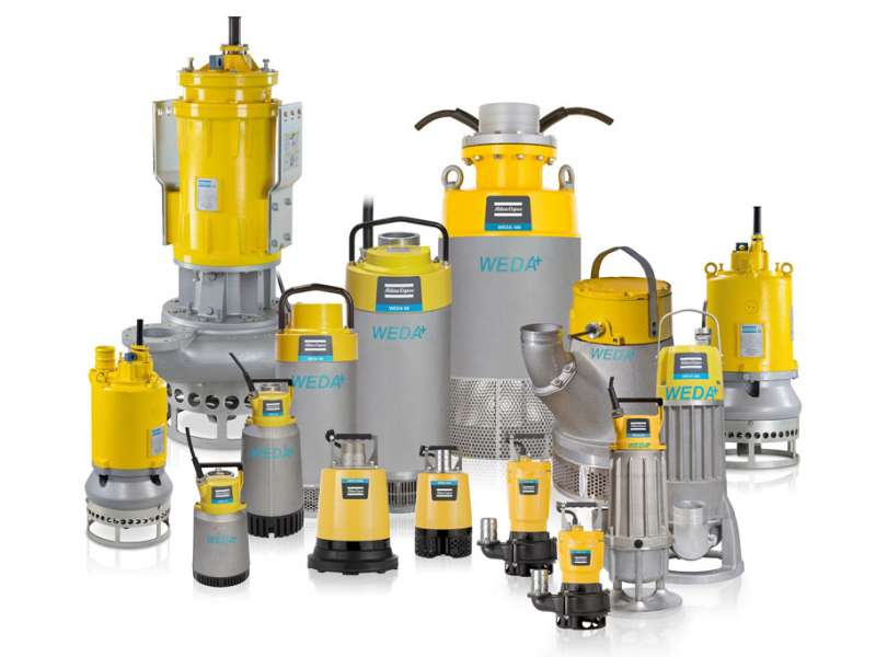 WEDA family of pumps