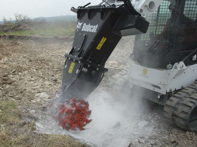 Bobcat rotary grinder attachment