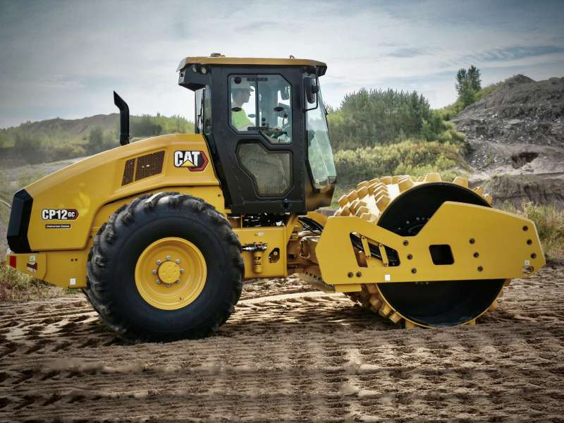 Cat CP12GC padfoot compactor