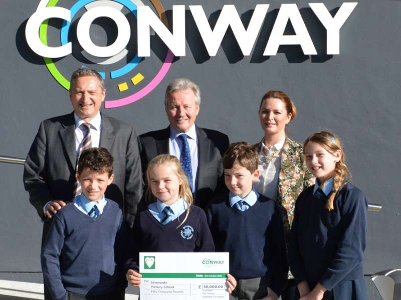 FM Conway donation