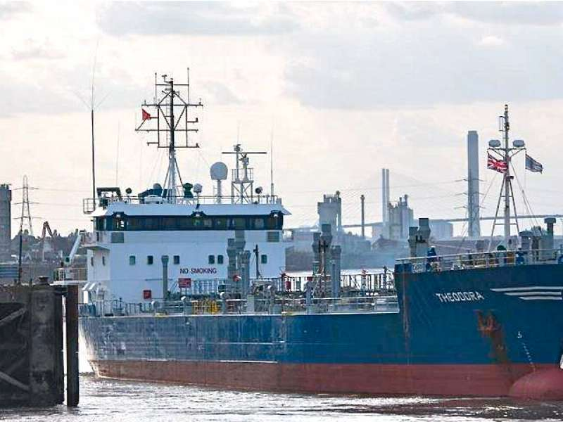 First delivery to Imperial Wharf bitumen terminal