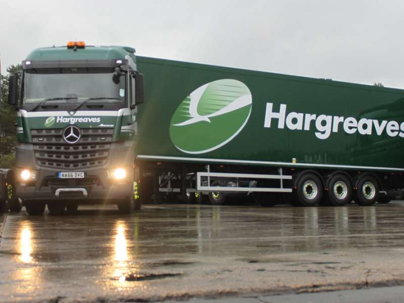 Paperless revolution at Hargreaves Logistics