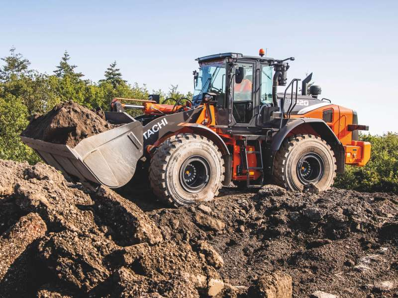 Hitachi ZW220-7 wheel loader