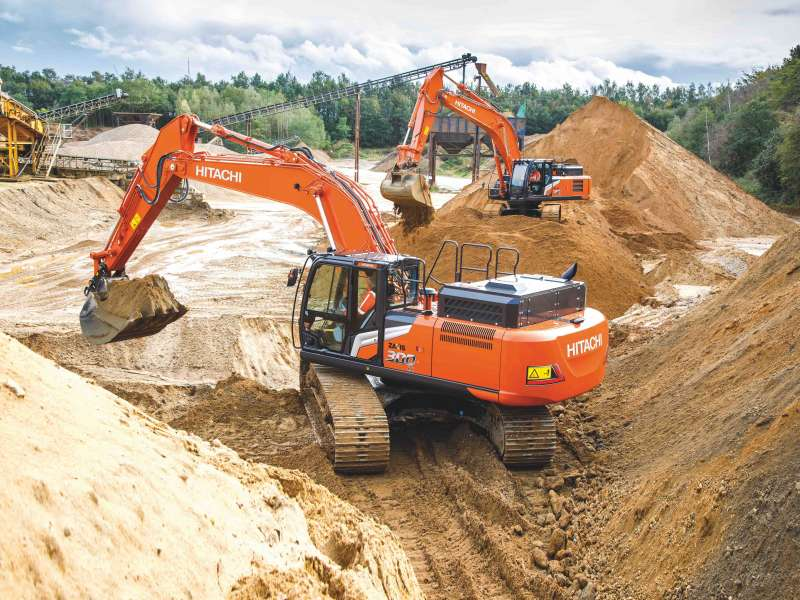Hitachi Zaxis-7 excavators