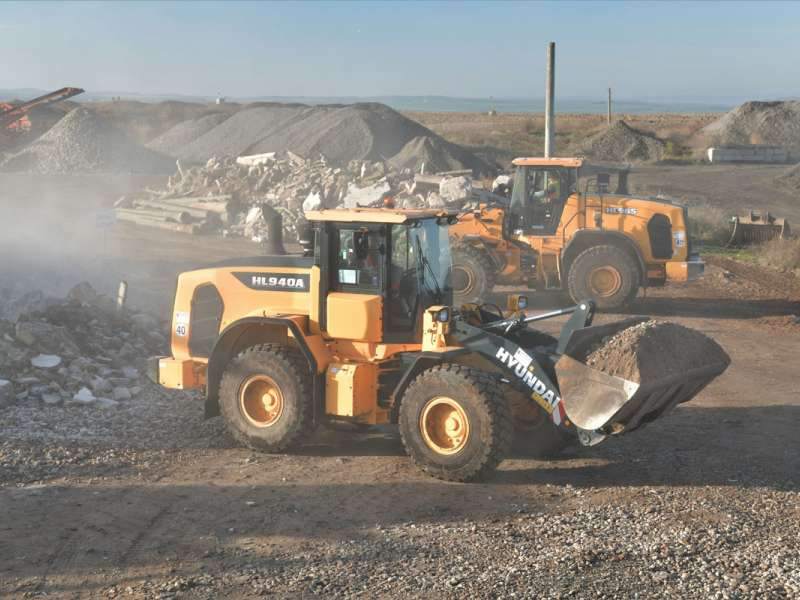 Hyundai HL900-series wheel loader