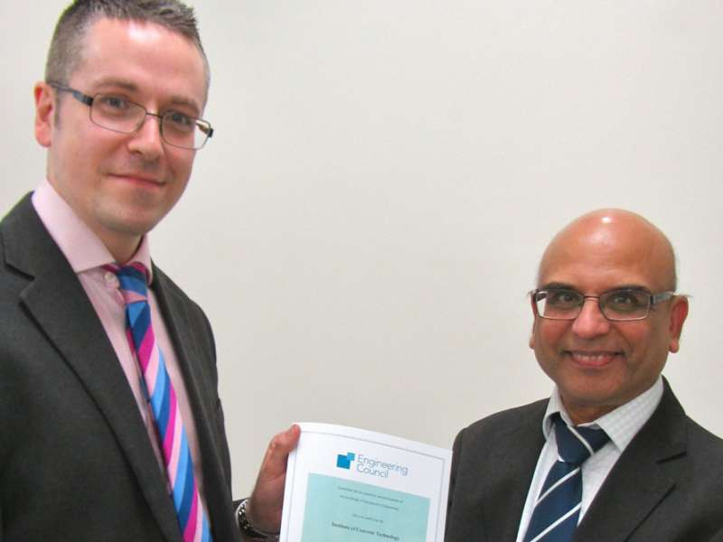 ICT recognized by Engineering Council