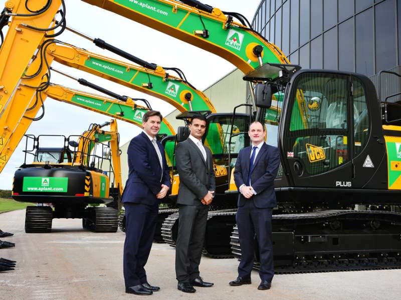 JCB land big deal with A-Plant